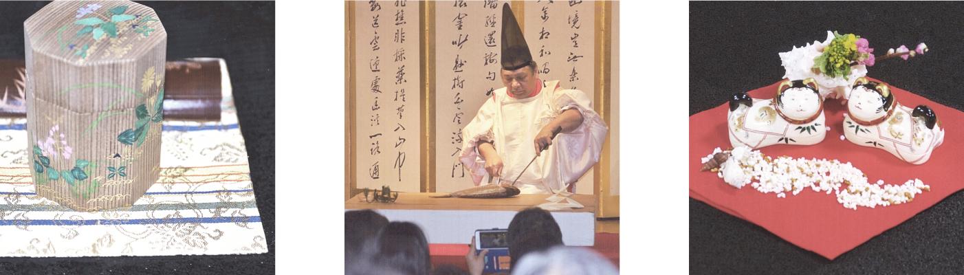 春の煎茶会 伝統の儀式・式包丁